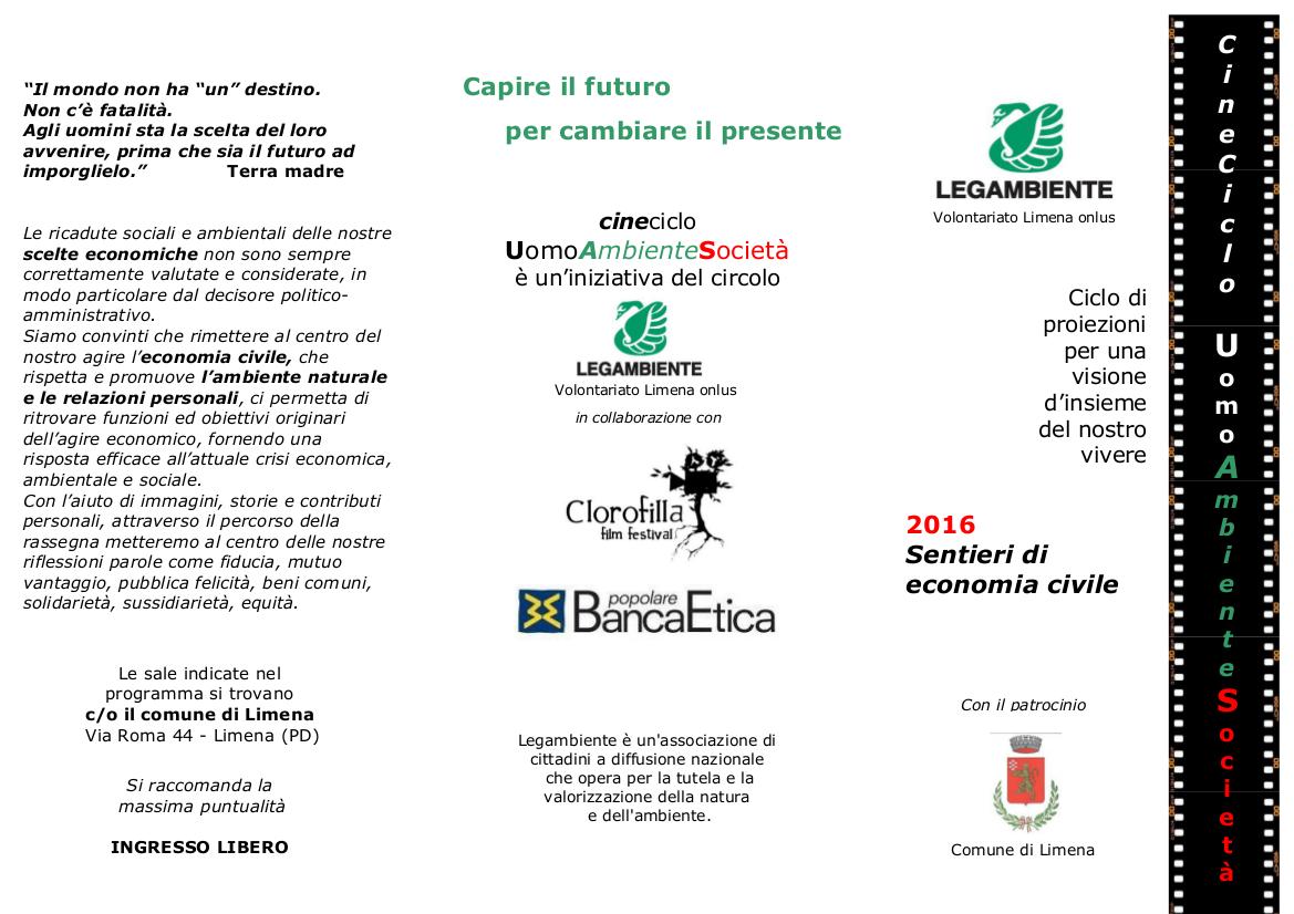 CineCiclo 2016 Legambiente Limena 2