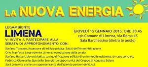 striscia serata nuova energia 150115