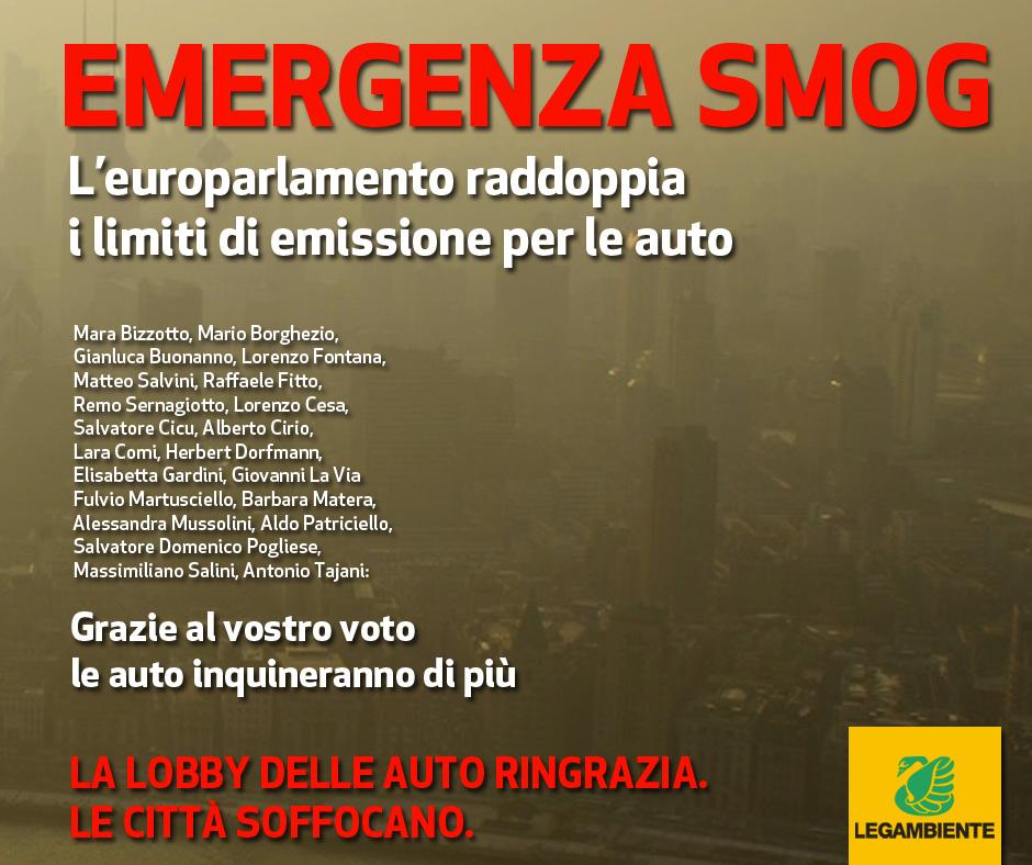 Europarlamento smog