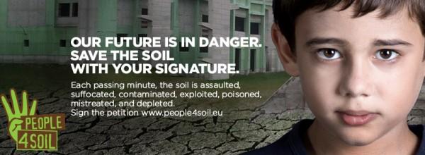 Firma la petizione europea per il suolo!