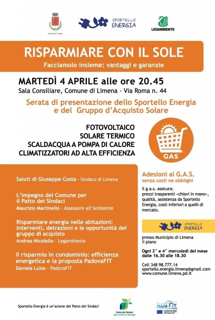 Volantino_serata Presentazione_Limena