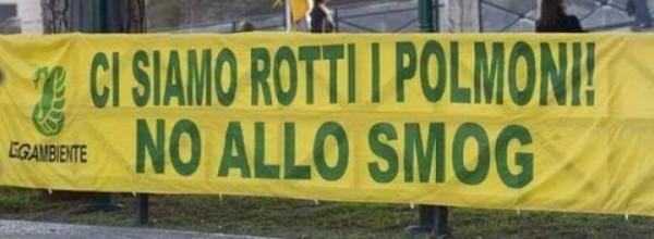 Inquinamento dell'aria: primi gli italiani!