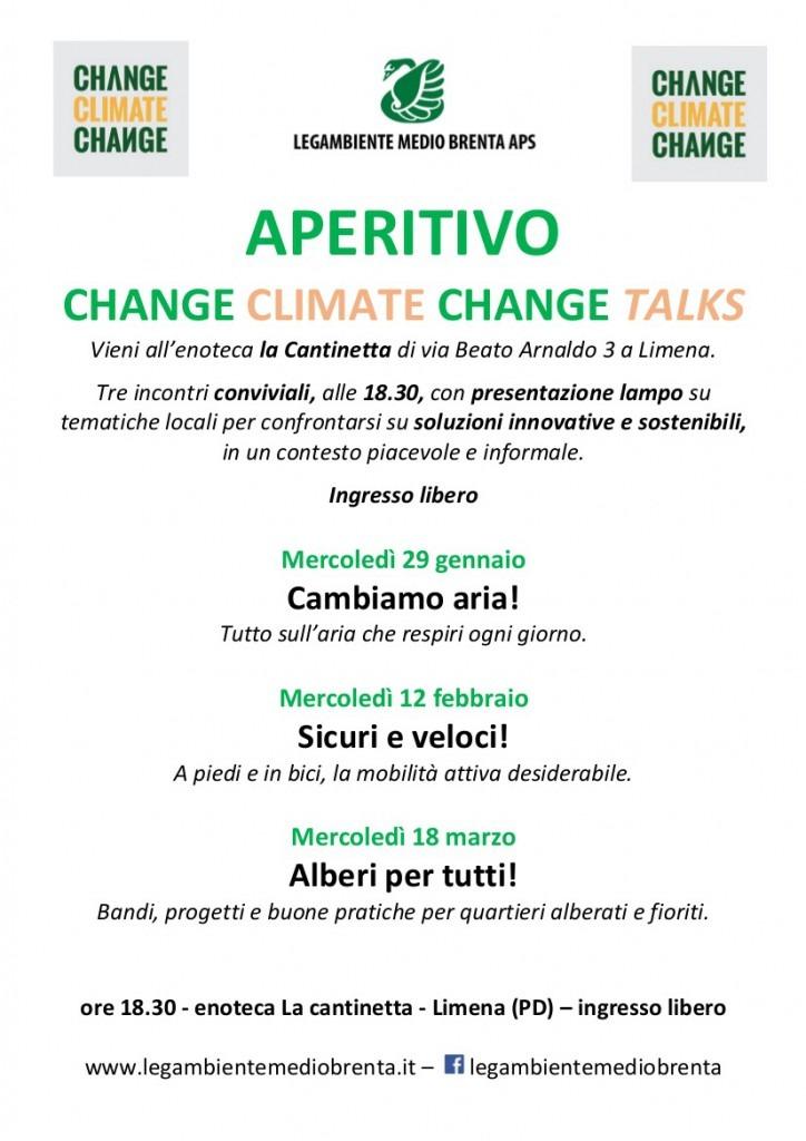 Aperitivo Change Climate Change