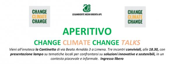 Aperitivo CHANGE Climate CHANGE Talks